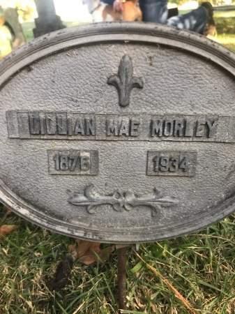 MORLEY, LILLIAN MAE - Washington County, Arkansas | LILLIAN MAE MORLEY - Arkansas Gravestone Photos