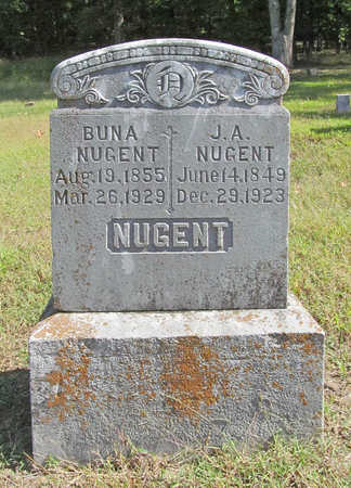 NUGENT, JOHN ALEXANDER - Washington County, Arkansas | JOHN ALEXANDER NUGENT - Arkansas Gravestone Photos