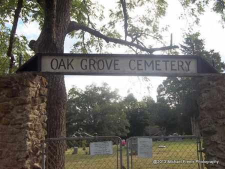*OAK GROVE CEMETERY SIGN,  - Washington County, Arkansas    *OAK GROVE CEMETERY SIGN - Arkansas Gravestone Photos