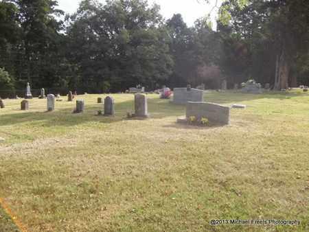 *OAK GROVE CEMETERY OVERVIEW,  - Washington County, Arkansas |  *OAK GROVE CEMETERY OVERVIEW - Arkansas Gravestone Photos