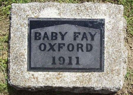 OXFORD, FAY - Washington County, Arkansas | FAY OXFORD - Arkansas Gravestone Photos