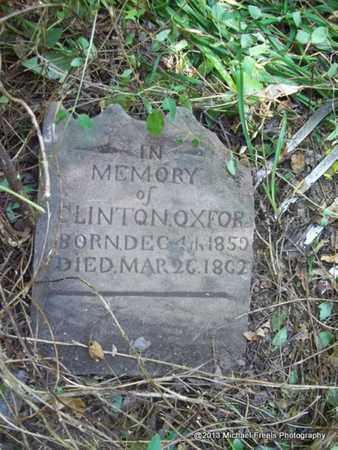 OXFORD, CLINTON - Washington County, Arkansas   CLINTON OXFORD - Arkansas Gravestone Photos