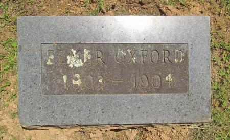 OXFORD, ELMER - Washington County, Arkansas | ELMER OXFORD - Arkansas Gravestone Photos