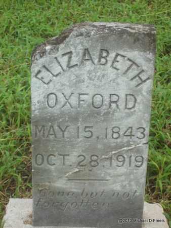 OXFORD, ELIZABETH - Washington County, Arkansas | ELIZABETH OXFORD - Arkansas Gravestone Photos