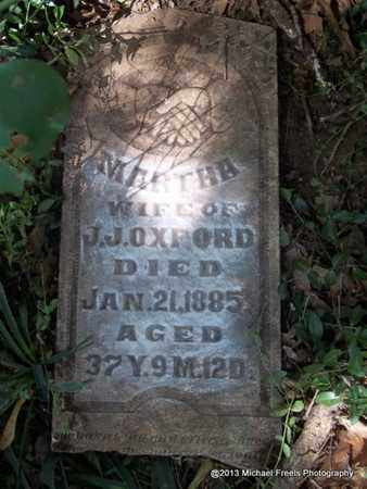 JOHNSON OXFORD, MARTHA - Washington County, Arkansas | MARTHA JOHNSON OXFORD - Arkansas Gravestone Photos