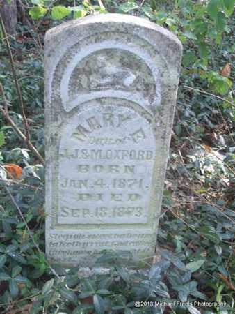 OXFORD, MARY E - Washington County, Arkansas | MARY E OXFORD - Arkansas Gravestone Photos
