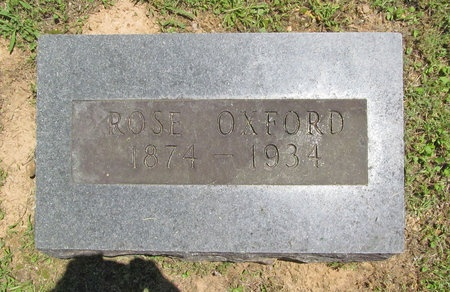 OXFORD, ROSE - Washington County, Arkansas | ROSE OXFORD - Arkansas Gravestone Photos