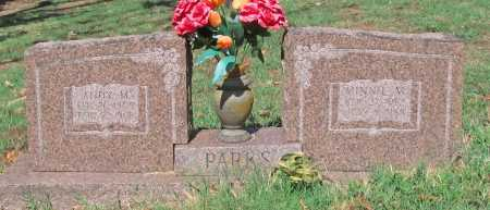 PARKS, ANDY M - Washington County, Arkansas | ANDY M PARKS - Arkansas Gravestone Photos