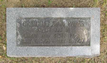 PARKS, CRAIG HOUSTON - Washington County, Arkansas | CRAIG HOUSTON PARKS - Arkansas Gravestone Photos