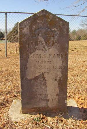 PARKS, MARY F - Washington County, Arkansas   MARY F PARKS - Arkansas Gravestone Photos