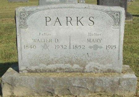 PARKS, MARY - Washington County, Arkansas | MARY PARKS - Arkansas Gravestone Photos