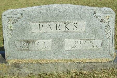 PARKS, JULIA W - Washington County, Arkansas | JULIA W PARKS - Arkansas Gravestone Photos