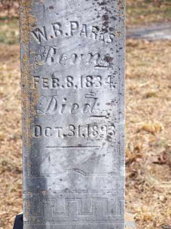PARKS, W.B. - Washington County, Arkansas | W.B. PARKS - Arkansas Gravestone Photos