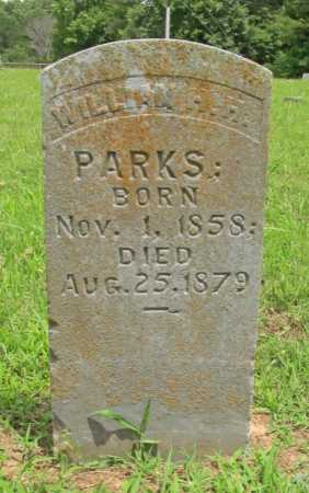 PARKS, WILLIAM H H - Washington County, Arkansas | WILLIAM H H PARKS - Arkansas Gravestone Photos