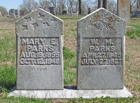 PARKS, MARY E - Washington County, Arkansas | MARY E PARKS - Arkansas Gravestone Photos