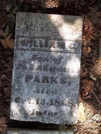 PARKS, WILLIAM G - Washington County, Arkansas   WILLIAM G PARKS - Arkansas Gravestone Photos