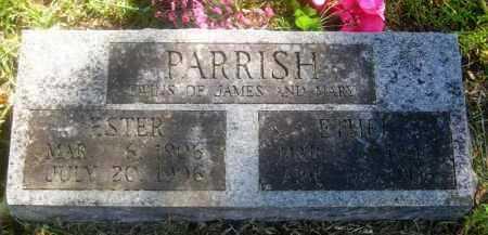 PARRISH, ESTER - Washington County, Arkansas   ESTER PARRISH - Arkansas Gravestone Photos