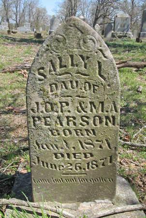 PEARSON, SALLY L - Washington County, Arkansas | SALLY L PEARSON - Arkansas Gravestone Photos