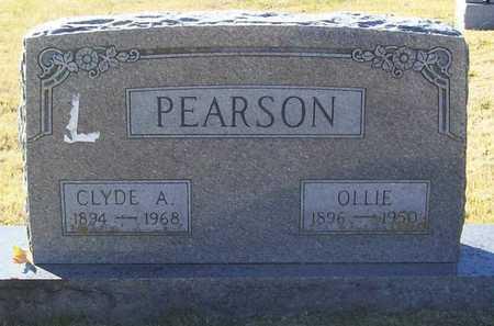 PEARSON, CLYDE AUGUSTUS - Washington County, Arkansas | CLYDE AUGUSTUS PEARSON - Arkansas Gravestone Photos