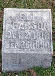 PEARSON, ELI - Washington County, Arkansas   ELI PEARSON - Arkansas Gravestone Photos