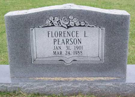 PEARSON, FLORENCE L - Washington County, Arkansas | FLORENCE L PEARSON - Arkansas Gravestone Photos