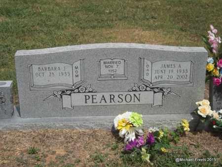 PEARSON, JAMES ALVIN - Washington County, Arkansas   JAMES ALVIN PEARSON - Arkansas Gravestone Photos