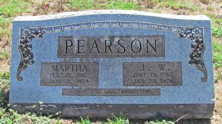 PEARSON, MARTHA - Washington County, Arkansas | MARTHA PEARSON - Arkansas Gravestone Photos