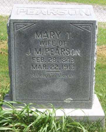 PEARSON, MARY T - Washington County, Arkansas | MARY T PEARSON - Arkansas Gravestone Photos