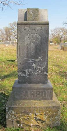 PEARSON, MOLLIE ETHEL - Washington County, Arkansas | MOLLIE ETHEL PEARSON - Arkansas Gravestone Photos