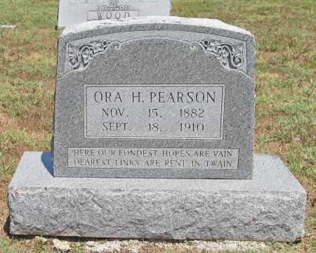 PEARSON, ORA H - Washington County, Arkansas | ORA H PEARSON - Arkansas Gravestone Photos