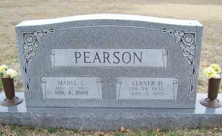 CARRINGTON PEARSON, MABEL LUCILE - Washington County, Arkansas | MABEL LUCILE CARRINGTON PEARSON - Arkansas Gravestone Photos