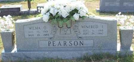 PEARSON, WINFRED LEE - Washington County, Arkansas   WINFRED LEE PEARSON - Arkansas Gravestone Photos