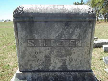 PEDEN, SAMUEL HARRISON - Washington County, Arkansas | SAMUEL HARRISON PEDEN - Arkansas Gravestone Photos