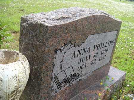 PHILLIPS, ANNA - Washington County, Arkansas   ANNA PHILLIPS - Arkansas Gravestone Photos
