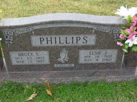 PHILLIPS, ELSIE J - Washington County, Arkansas | ELSIE J PHILLIPS - Arkansas Gravestone Photos
