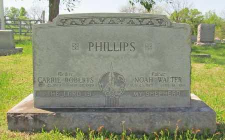 PHILLIPS, NOAH WALTER - Washington County, Arkansas | NOAH WALTER PHILLIPS - Arkansas Gravestone Photos