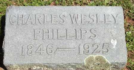 PHILLIPS, CHARLES WESLEY - Washington County, Arkansas   CHARLES WESLEY PHILLIPS - Arkansas Gravestone Photos