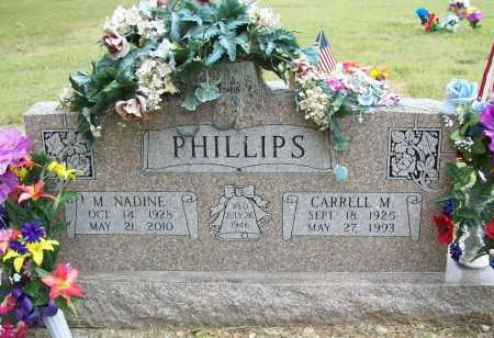 PHILLIPS, CARRELL M - Washington County, Arkansas | CARRELL M PHILLIPS - Arkansas Gravestone Photos