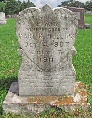 PHILLIPS, CARL G - Washington County, Arkansas   CARL G PHILLIPS - Arkansas Gravestone Photos