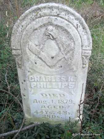 PHILLIPS (VETERAN CSA), CHARLES RICE - Washington County, Arkansas   CHARLES RICE PHILLIPS (VETERAN CSA) - Arkansas Gravestone Photos