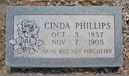 PHILLIPS, CINDA - Washington County, Arkansas   CINDA PHILLIPS - Arkansas Gravestone Photos
