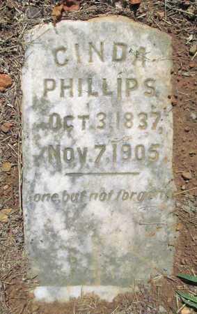 PHILLIPS, CINDA (ORIGINAL) - Washington County, Arkansas | CINDA (ORIGINAL) PHILLIPS - Arkansas Gravestone Photos
