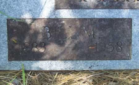 PHILLIPS, BILL M (CLOSEUP) - Washington County, Arkansas | BILL M (CLOSEUP) PHILLIPS - Arkansas Gravestone Photos