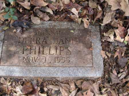 PHILLIPS, DEBRA - Washington County, Arkansas | DEBRA PHILLIPS - Arkansas Gravestone Photos