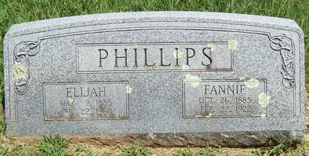 PHILLIPS, ELIJAH - Washington County, Arkansas   ELIJAH PHILLIPS - Arkansas Gravestone Photos