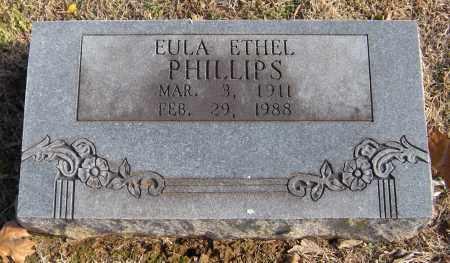 PHILLIPS, EULA ETHEL - Washington County, Arkansas | EULA ETHEL PHILLIPS - Arkansas Gravestone Photos