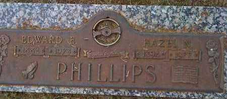 PHILLIPS, HAZEL N. - Washington County, Arkansas   HAZEL N. PHILLIPS - Arkansas Gravestone Photos