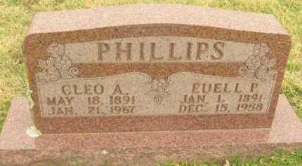 PHILLIPS, EUELL P - Washington County, Arkansas | EUELL P PHILLIPS - Arkansas Gravestone Photos