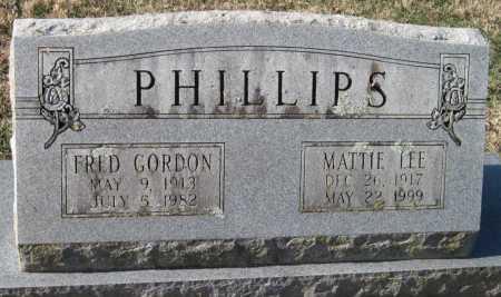 PHILLIPS, FRED GORDON - Washington County, Arkansas | FRED GORDON PHILLIPS - Arkansas Gravestone Photos