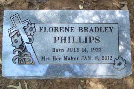 PHILLIPS, FLORENE - Washington County, Arkansas   FLORENE PHILLIPS - Arkansas Gravestone Photos
